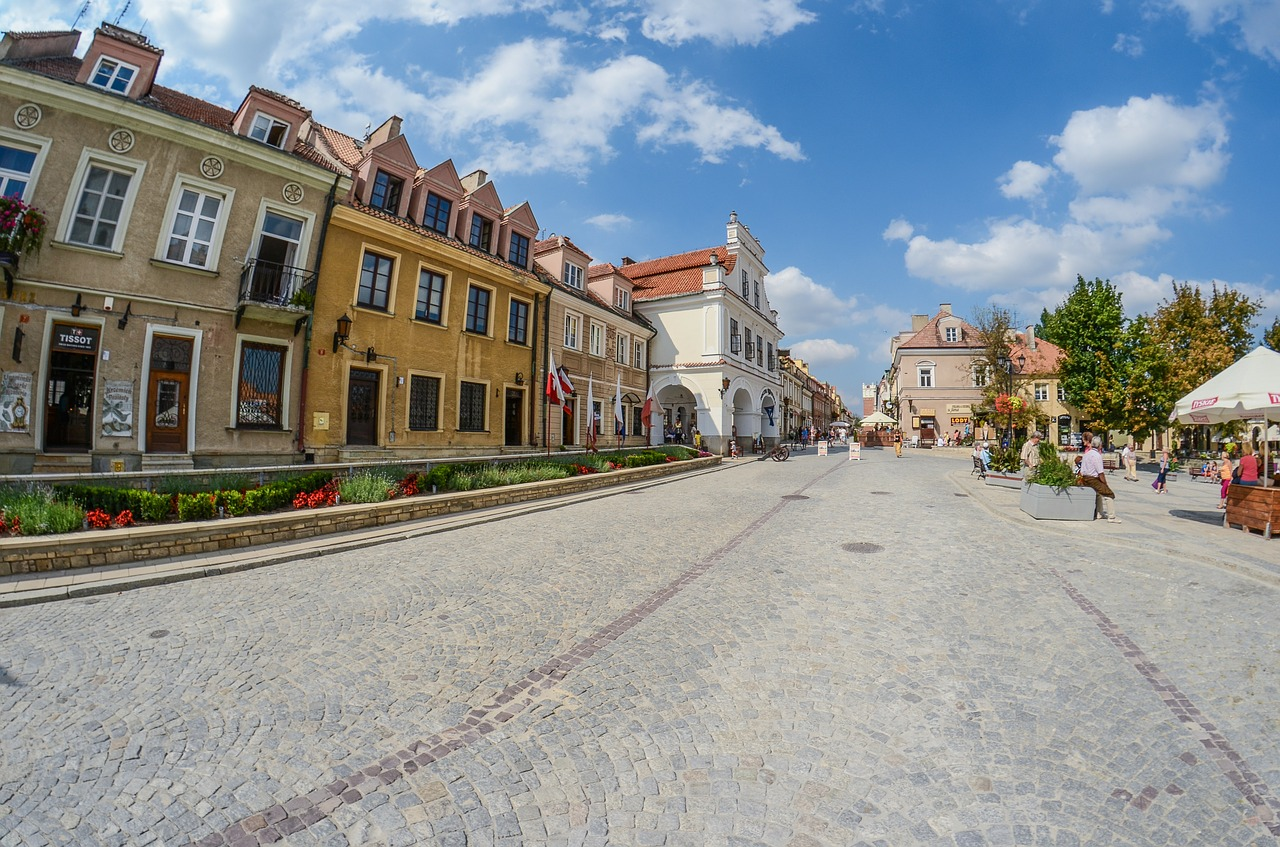 Rynek Starego Miasta w Sandomierzu