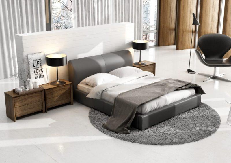 Ekskluzywne łóżko tapicerowane