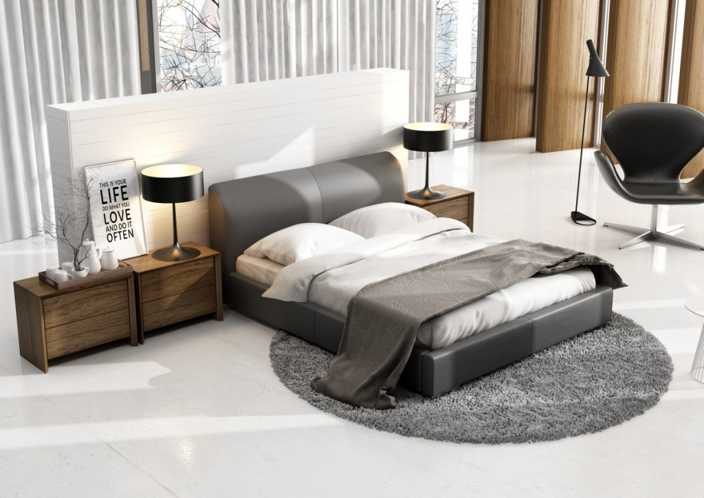 łóżka Tapicerowane W Małej Sypialni Co Warto Wiedzieć 10