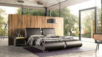 Łóżka tapicerowane Lugano