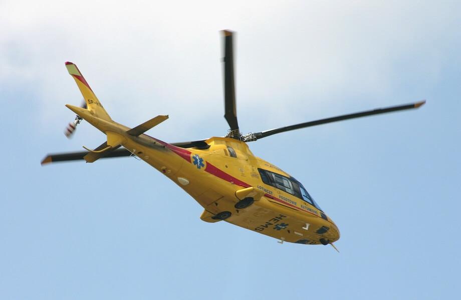 Gdański helikopter ratunkowy