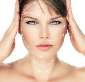 Owal twarzy po zabiegu laseroterapii