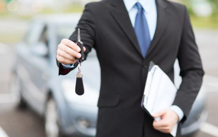 proces wynajmu auta