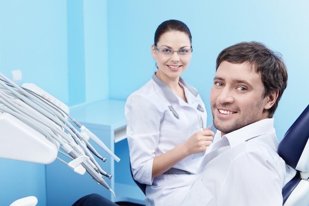 Leczenie zębów przed wybielaniem