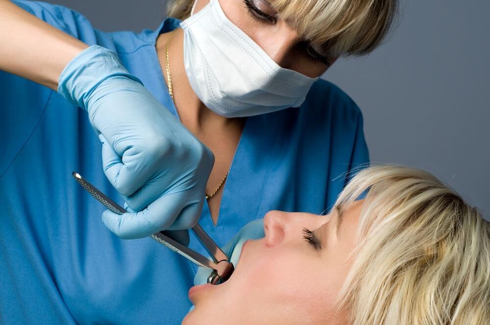 Wykonanie zabiegu stomatologicznego