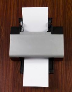 Przykład drukarki Canon