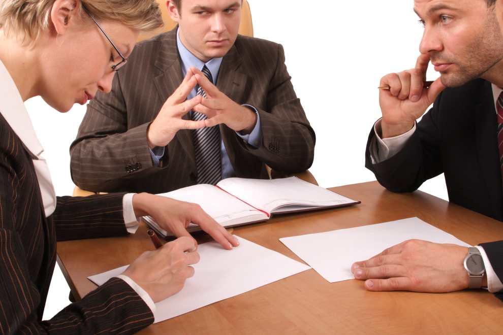 Spotkanie w kancelarii adwokackiej